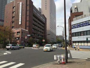 江戸博物館前