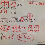 和太鼓の伝承方法 口伝と譜面